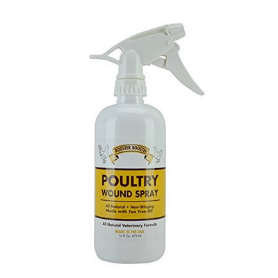 Durvet Rooster Booster Poultry Wound Spray 16 oz.