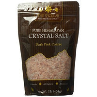 The Spice Lab's Himalayan Natural Unprocessed Cooking Coarse Grain Salt 16 Oz Bag