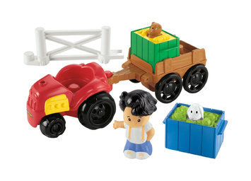 Mattel, Inc. Fisher-Price Little People Farm Tractor & Trailer
