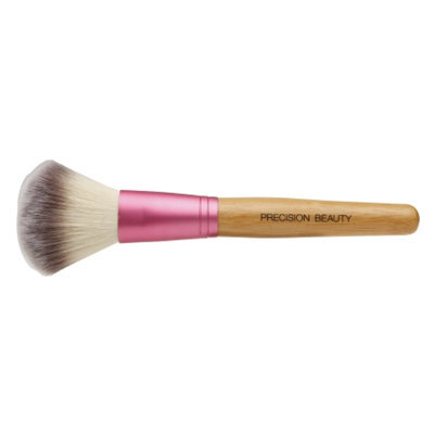 Precision Beauty Powder Brush, Soft Taklon Hair
