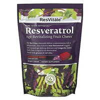 ResVitale - Resveratrol Age-Revitalizing Fruit Chews Bordeaux Berry - 30 Soft Chews