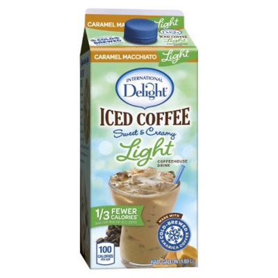 White Wave/Horizon International Delight Light Caramel Macchiato Iced Coffee 64 oz
