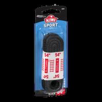 Kiwi Sport Laces Round Black