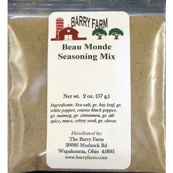 Barry Farm Beau Monde Seasoning, 2 oz.