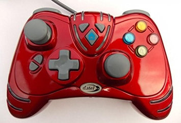 Datel NEW XBox 360 Wired WildFire Controller Limited Edition Ruby Red