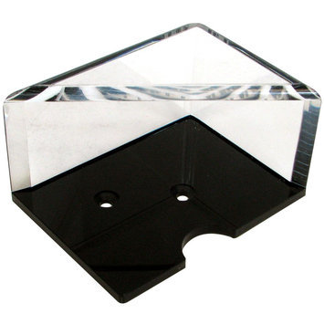 Trademark Global Games Trademark Global 2 Deck Professional Grade Acrylic Discard Holder with Top