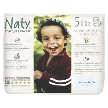 Nature Babycare Eco Pull On Training Pants Size 5 (80 Count) 4-Pack