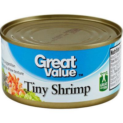 Great Value: Tiny Shrimp, 4.25 Oz