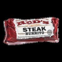 Red's All Natural  Steak Burrito