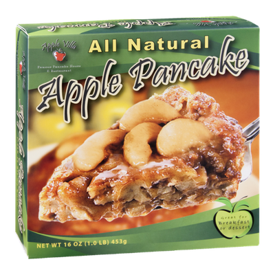 Apple Villa Apple Pancake All Natural
