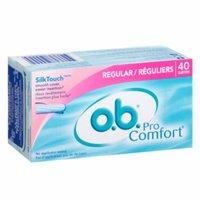 o.b. Pro Comfort Tampons, Regular, 40 ea