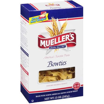 Mueller's Bowties Enriched Macaroni Product Pasta, 12 oz