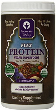 Flex Protein Genesis Today Inc 14 oz Canister