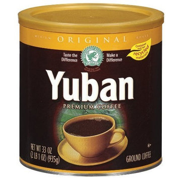 Yuban Original Ground Coffee, 33-Ounce Cans (Pack of 2)