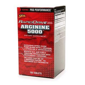 GNC Pro Performance RapidDrive Arginine 5000