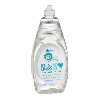 Berkley Green Baby Bottle, Dish and Toy Wash Non-Toxic