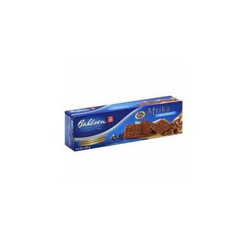 BAHLSEN 220168 BAHLSEN COOKIE AFRIKA MILK CHOC - Pack of 8 - 4. 6 OZ