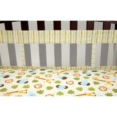 Fisher-Price Safari Baby Secure-Me Crib Liner