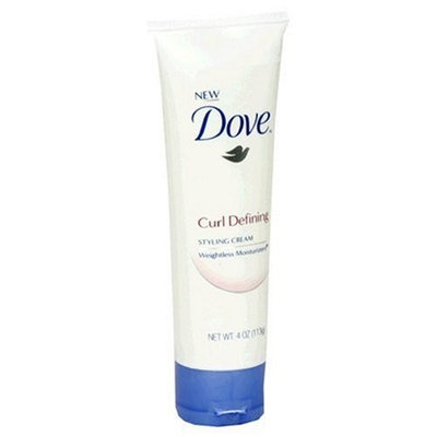 Dove Weightless Moisturizers Curl Defining Styling Cream