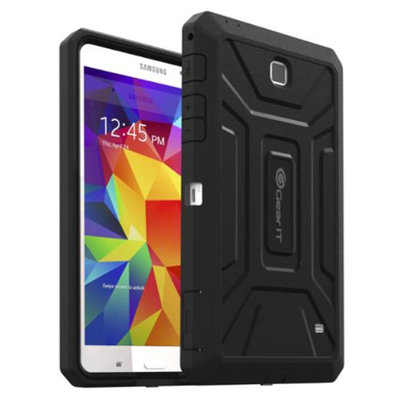 GearIt Samsung Galaxy Tab 4 7.0 Case, SHOXX PC/TPU Silicone Hybrid Rugged Hard Shell Cover Tablet Case for Galaxy Tab 4 7.0