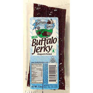 Buffalo Guys Buffalo Jerky Chopped & Formed Mild Gluten Free -- 2.2 oz
