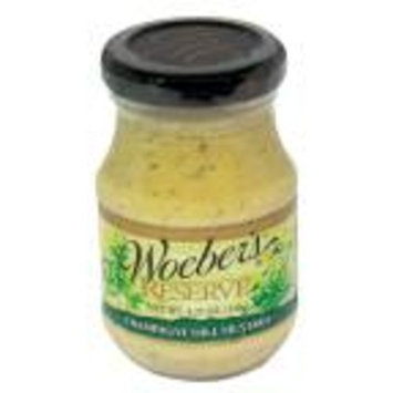 Woeber's Reserve Champagne Dill Mustard (4.25 oz.)