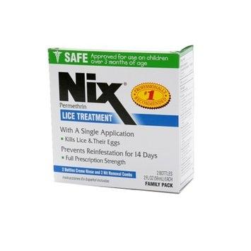 Nix Cream Rinse Lice Treatment