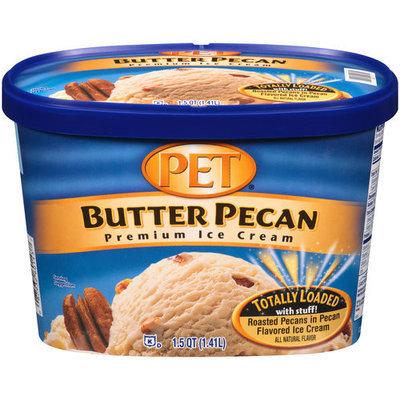 PET Butter Pecan Premium Ice Cream, 1.5 qt