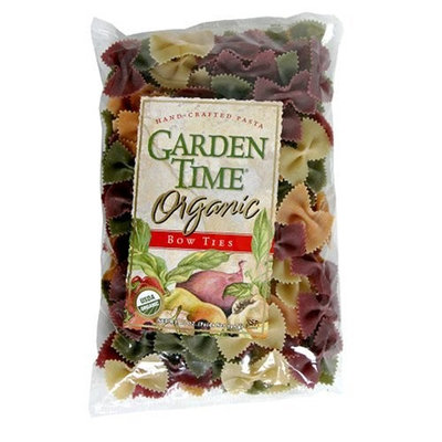 Garden Time Organic Four Color Bow Ties, 10-Ounce Packages (Pack of 12)