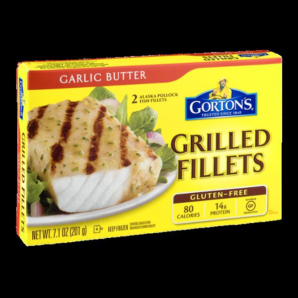 Gorton's Grilled Fillets Garlic Butter - 2 CT