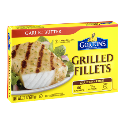 Gorton's Grilled Fillets Garlic Butter - 2 CT