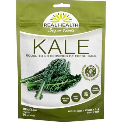 Real Health Super Foods Kale Powder, 3.5 oz