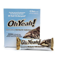 ISS Oh Yeah! Protein Bars Cookie Caramel Crunch