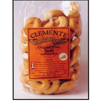 Clemente Italian Bakery Clemente Original Wine Taralli, Italian Cookies 10 Oz Bag