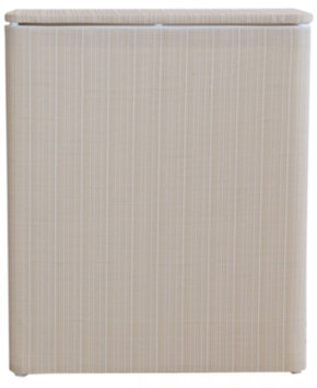 Lamont Home LaMont Home Raine Upright Hamper - White/Ivory