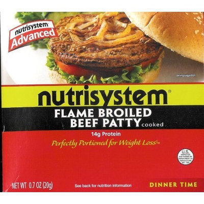 NutriSystem Advanced Flame Broiled Beef Patty