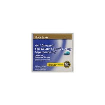 Good Sense Anti-Diarrheal Soft Gelatin Capsules -- 12 Gelatin Capsules
