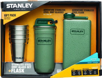 Stanley Adventure SS Shots + 8oz Flask Gift Set