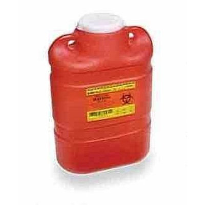 BD Sharps Collector 8.2 qt Large, Red - 1 ea