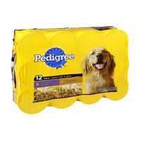 Pedigree Lamb & Vegetables and Chicken Assorted Combo Pack Dog Food - 12 PK