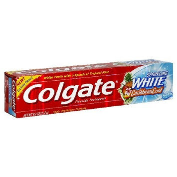 Colgate® SPARKLING WHITE® CaribbeanCool Toothpaste Gel