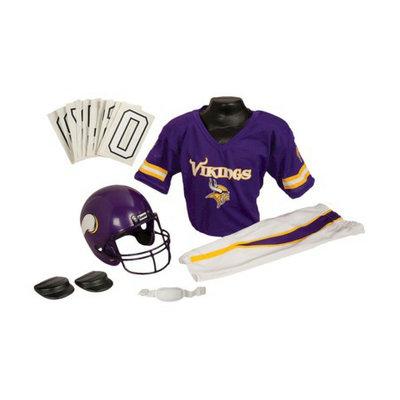 Franklin Sports NFL Vikings Deluxe Uniform Set - Medium