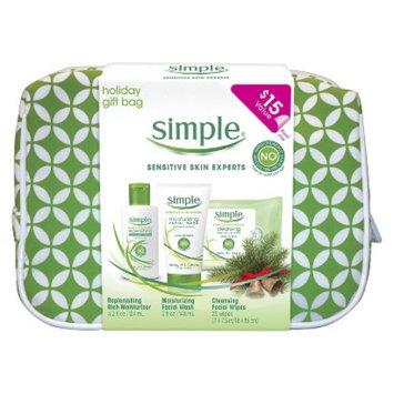 Simple Sensitive Skin Experts Daily Face Care Regimen Kit - 3 Pc