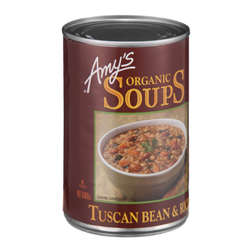 Amy's Organic Soups Tuscan Bean & Rice