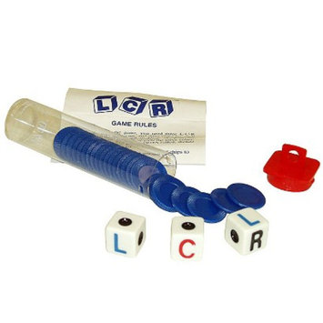Trademark Global Left Center Right LCR Dice Game