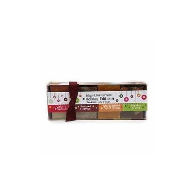 Biggs & Featherbelle Holiday Edition Soap Gift Set, 7 Ounce