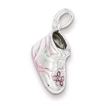 Cellini, Inc goldia Sterling Silver Baby Shoe Charm