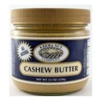 Krema Natural Cashew Butter, 12 Ounce -- 12 per case.