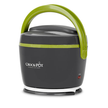 Crock-pot 20-Ounce Lunch Crock Food Warmer Gray/Green