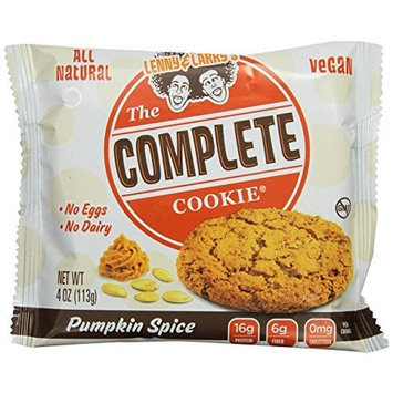 Lenny & Larry's The Complete Cookie, Pumpkin Spice, 4-Ounce Cookies (Pack of 12)